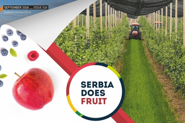 Serbian fruit potential within Eurofruit magazine 1