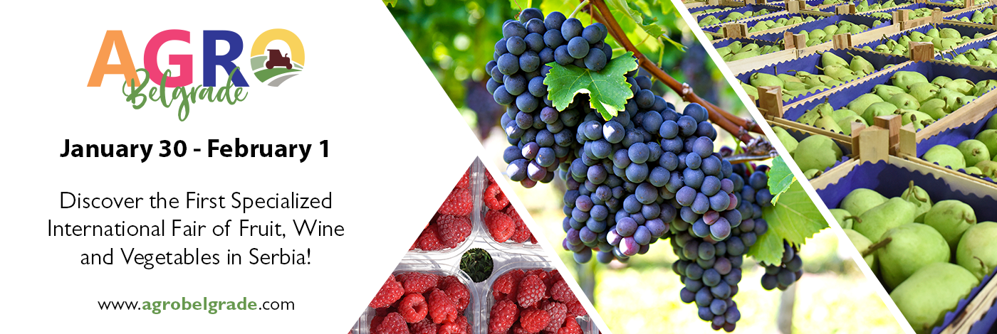 Fruit, Wine and Vegetable Trade Show this winter at Belgrade Fair! 2